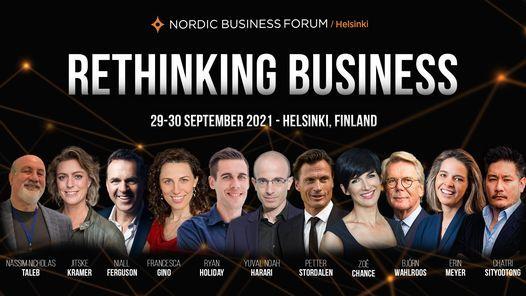 Nordic Business Forum Helsinki 2021