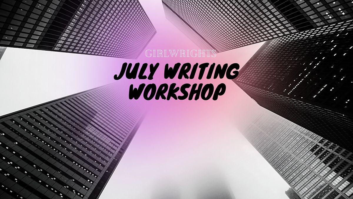 GirlWrights July Writing Workshop Week