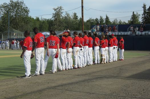 Opening Night With The Alaska Goldpanners Growden Baseball Fields Two Rivers 10 June 2021