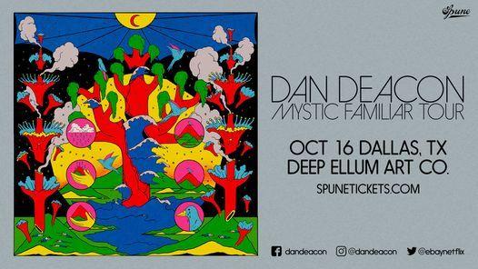 Dan Deacon   Deep Ellum Art Co.