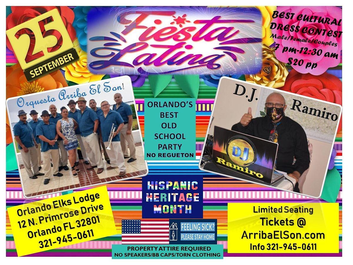 Hispanic Heritage Dance  -FIESTA LATINA - Baile Latino - Dance Part Orlando