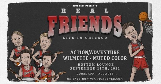 Real Friends - Bottom Lounge - 9\/11\/2021