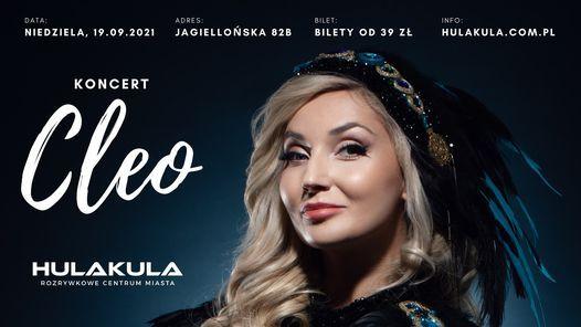 Cleo   Koncert Warszawa   HULAKULA