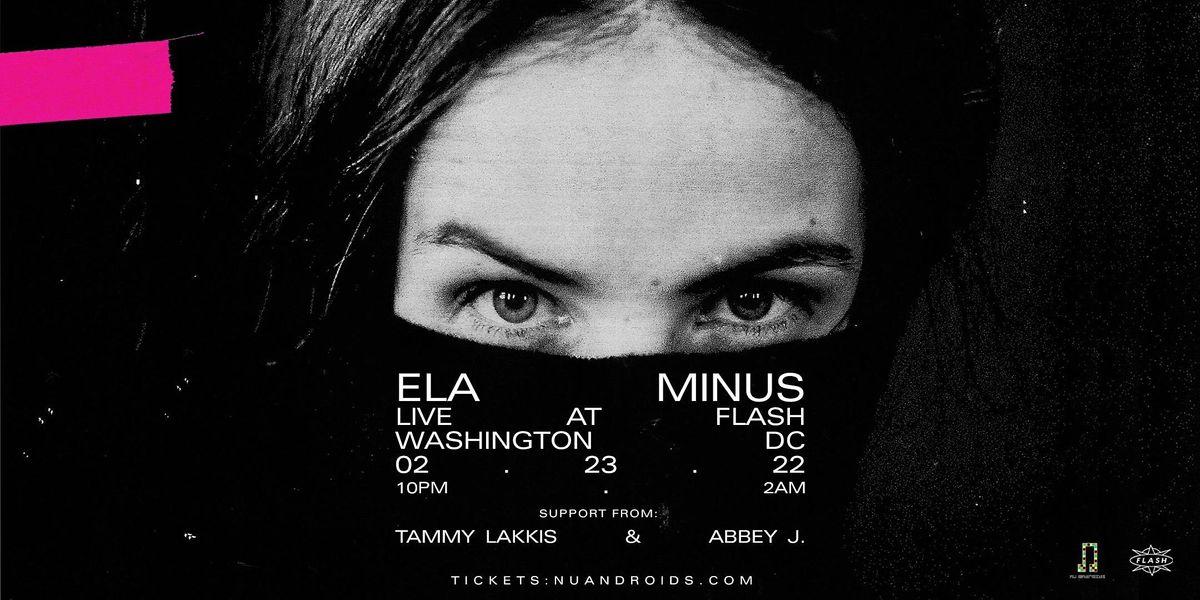 N\u00fc Androids Presents: Ela Minus (21+)