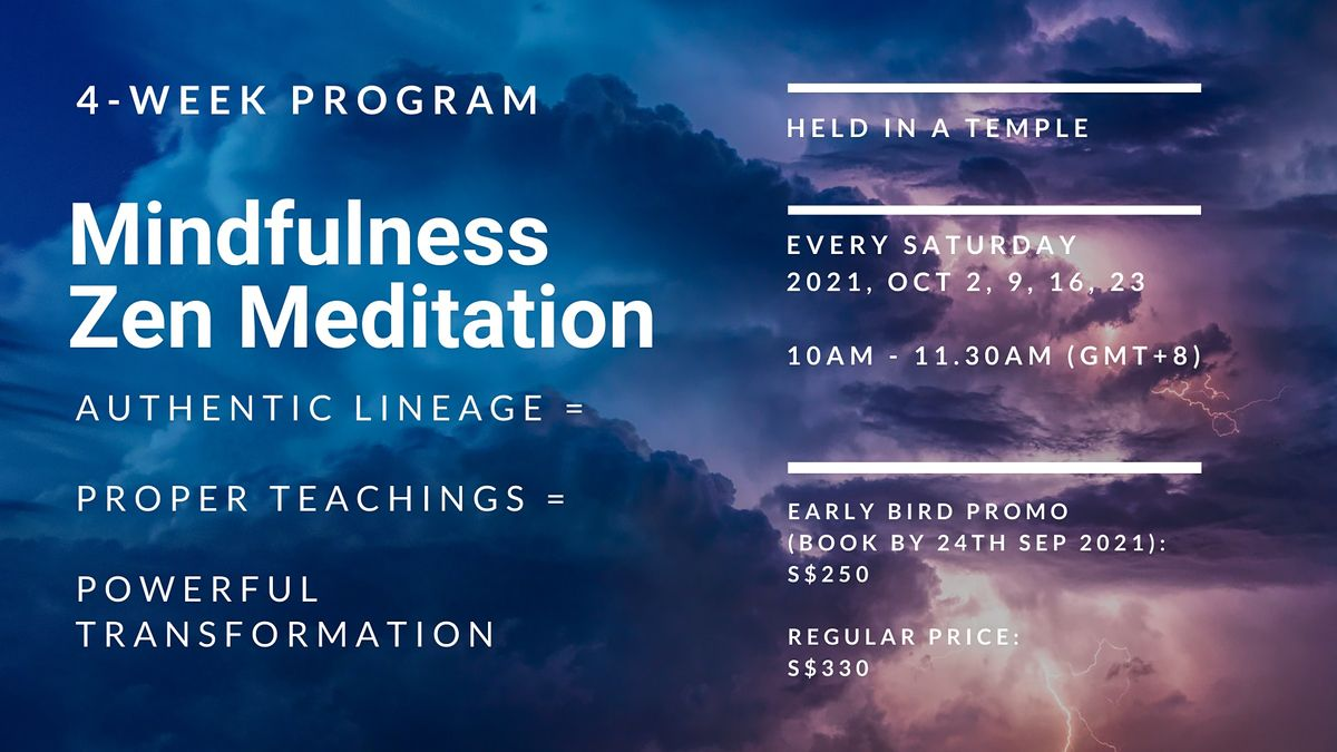 Mindfulness Zen Meditation