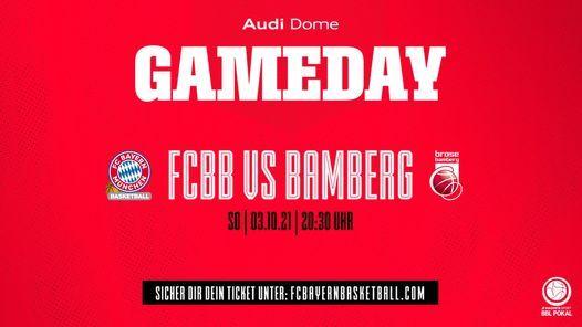 FCBB vs BAMBERG (Pokal)