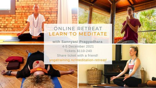 NEW DATE - Meditation Retreat with Sannyasi Pragyadhara
