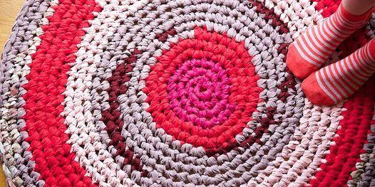 Crochet Rag Rugs Workshop