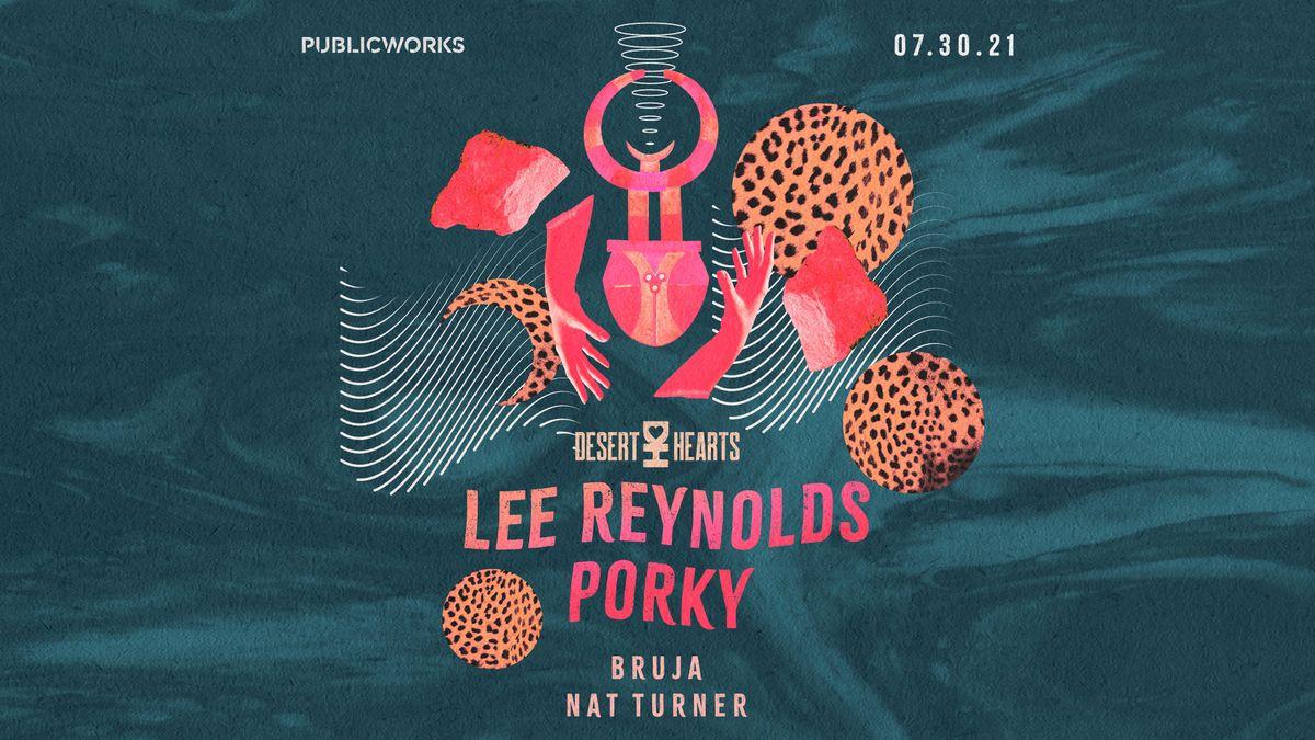 Lee Reynolds and Porky (Desert Hearts) at Public Works