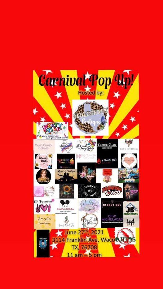 Carnival pop up