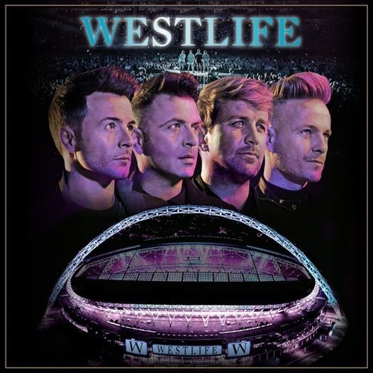 Westlife at Wembley