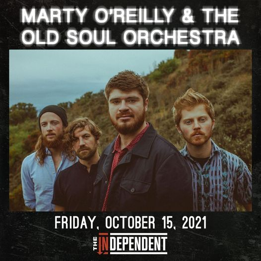 Marty O\u2019Reilly & the Old Soul Orchestra at The Independent