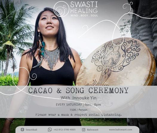 Cacao Song Ceremony Swasti Bali Conscious Eco Village Ubud 30 January 2021