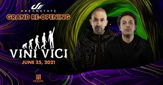 Vini Vici Saturday, June 19th