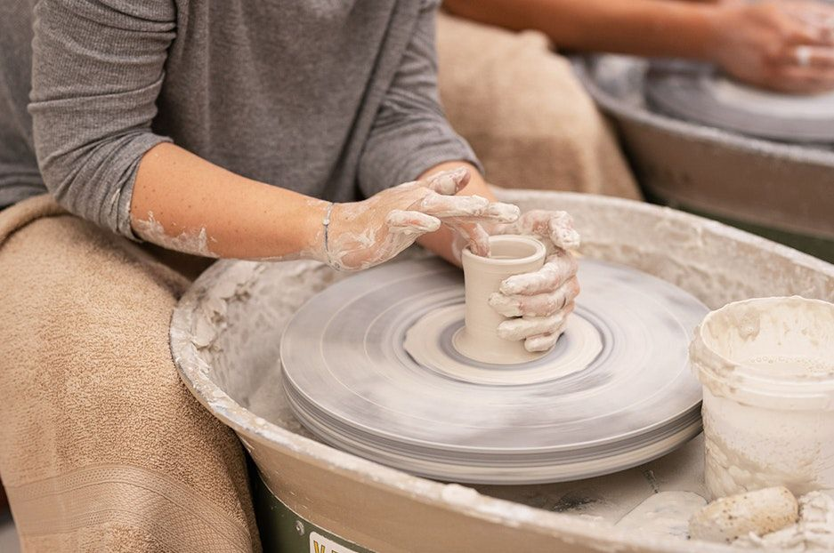 Not Yet Perfect - A Day on the Wheel, FULL DAY POTTERY WORKSHOP