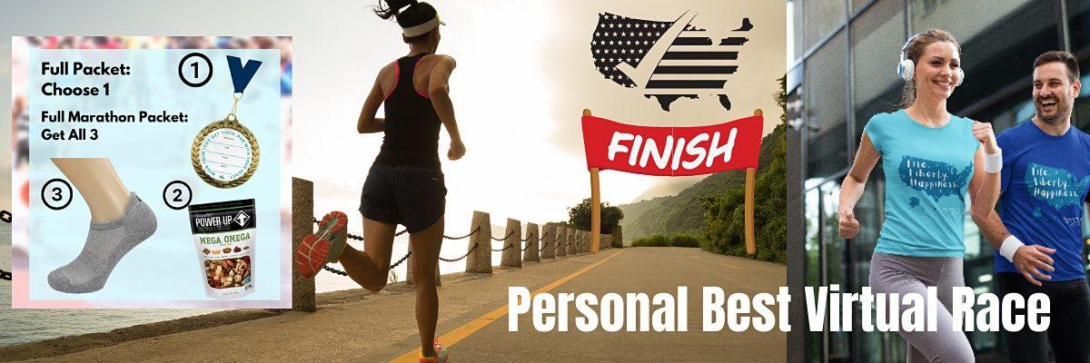 Run New York Virtual 5K\/10K\/Half-Marathon Race