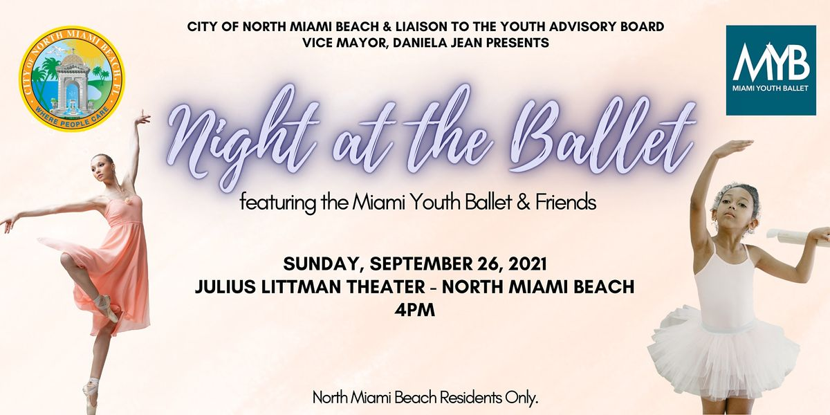 Night at the Ballet featuring Miami Youth Ballet & Friends