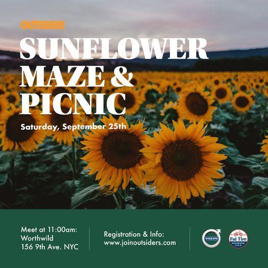 Sunflower Maze & Picnic