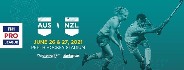 FIH Pro League - Australia v New Zealand (Sunday)