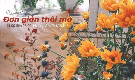 Workshop th\u00eau tay th\u00e1ng 10 : \u0110\u01a1n Gi\u1ea3n Th\u00f4i M\u00e0