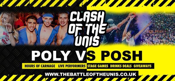Manchester Battle of the Unis | Manchester Freshers 2021