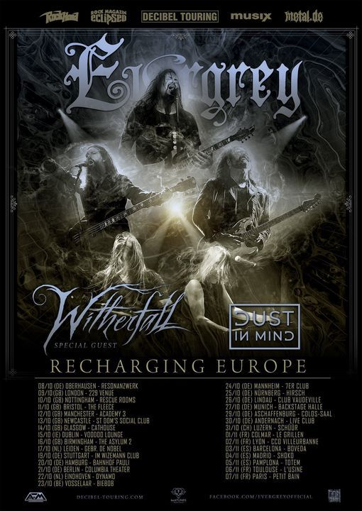 Evergrey live at Manchester Academy 3