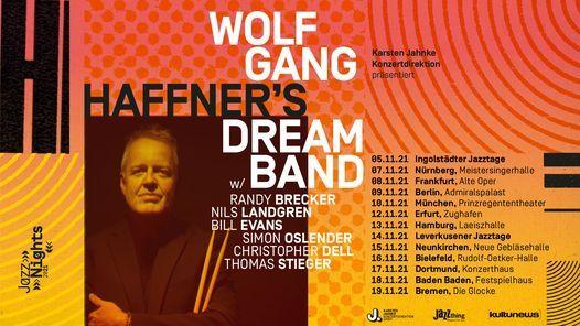 JazzNights 2021: Wolfgang Haffner's Dreamband \/\/ M\u00fcnchen