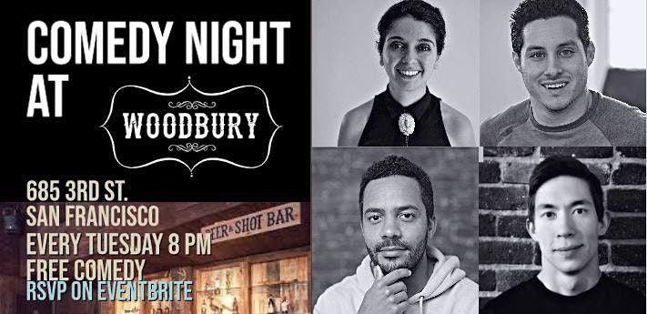 Comedy Night At San Francisco's Woodbury