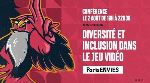 Diversit\u00e9 et inclusion dans le jeu vid\u00e9o