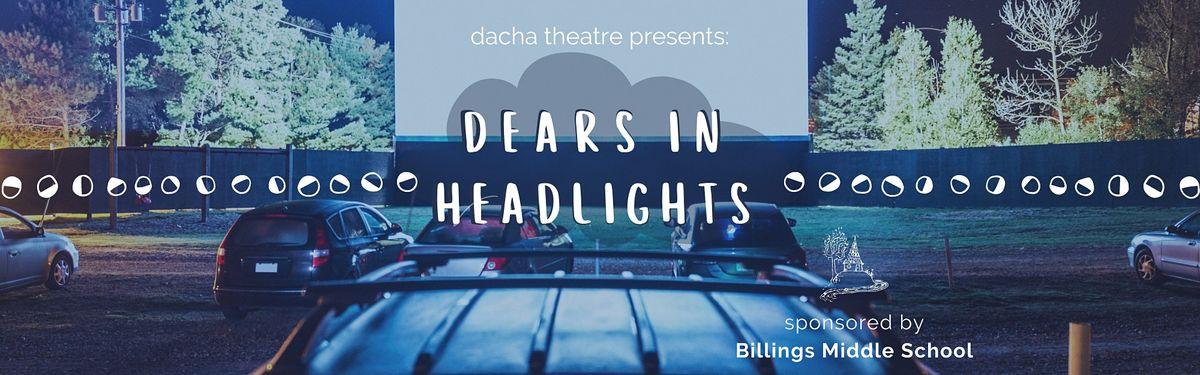 Dears in Headlights - Billings Middle School (Vehicle)