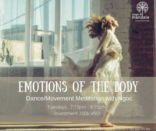 The Emotions of the Body - Dance Movement Meditation