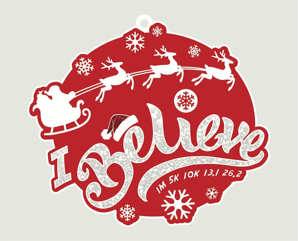 2021 Santa's Big Day 1M 5K 10K 13.1 26.2-Participate from Home  Save $5