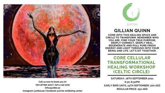 Core Cellular Transformational Healing Workshop (Celtic Circle)