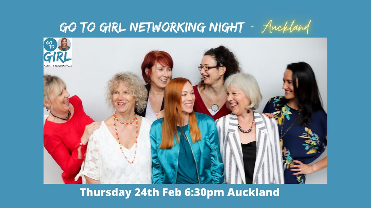 Go to Girl Networking Night - Auckland