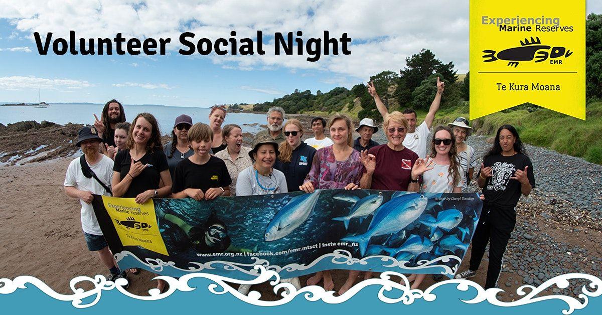 EMR volunteer social night
