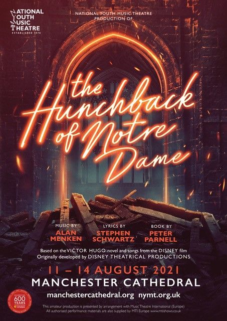 The National Youth Music Theatre presents The Hunchback of Notre Dame