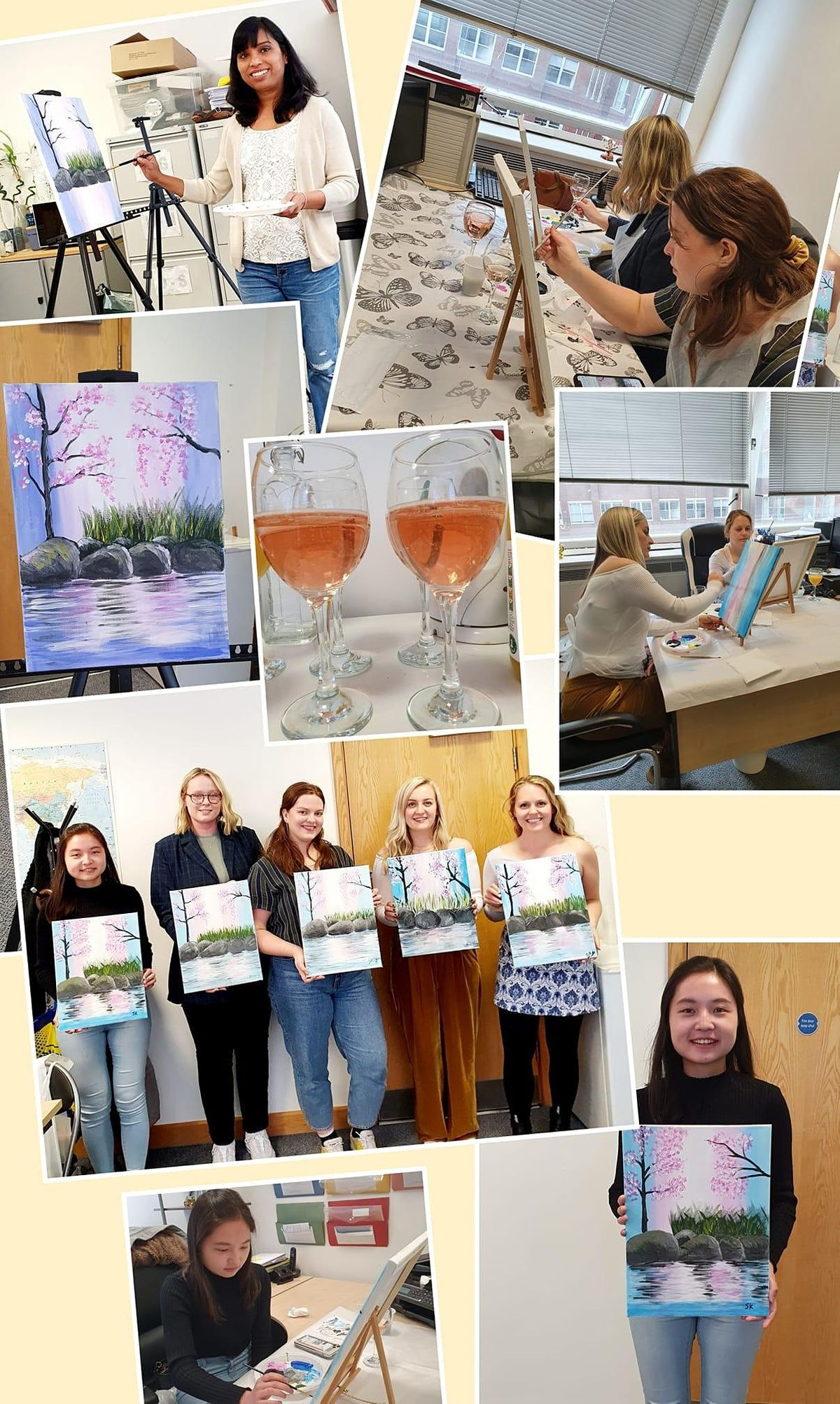 Paint and Sip Class