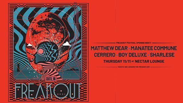 MATTHEW DEAR (DJ Set) with Manatee Commune