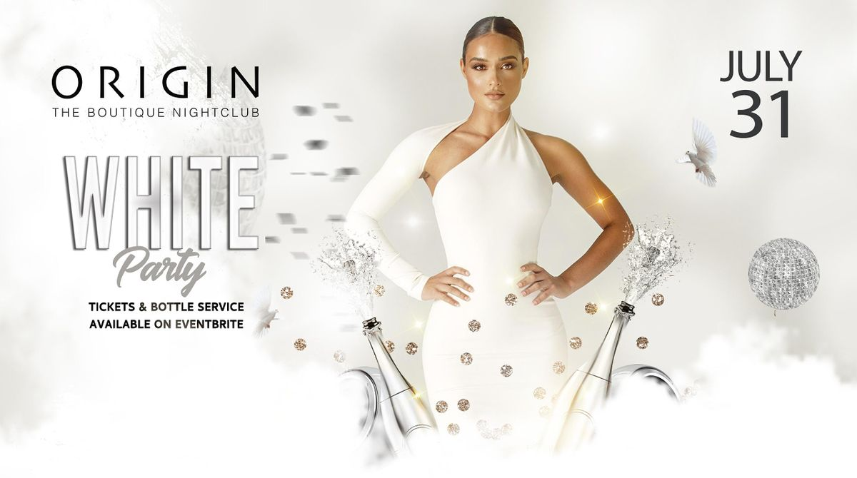 White Party on Saturday, July 31st