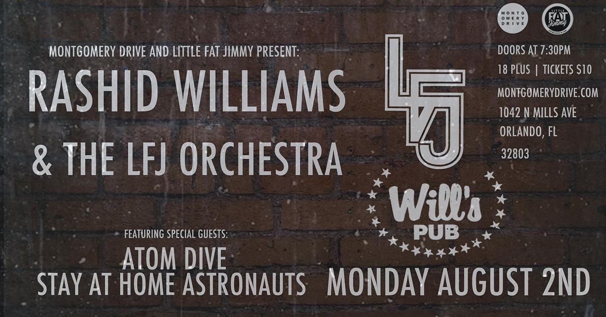 Rashid Williams & the LFJ Orchestra with Atom Dive and SAHA