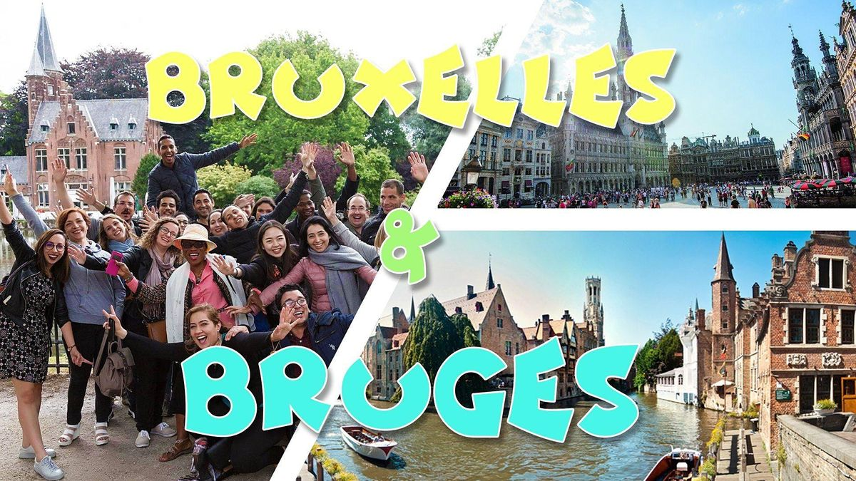 Weekend Bruges & Bruxelles - 28-29 ao\u00fbt