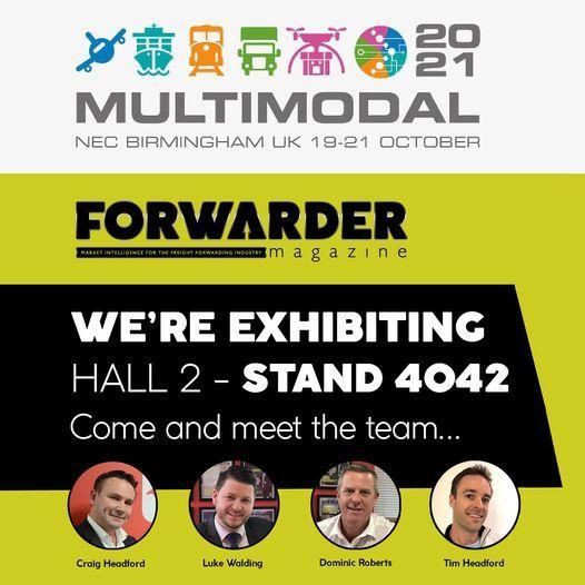 FORWARDER magazine at Multimodal 2021