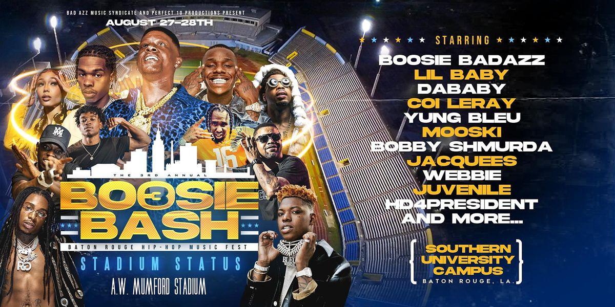 The 3rd Annual BOOSIE BASH-Baton Rouge Hip Hop Festival