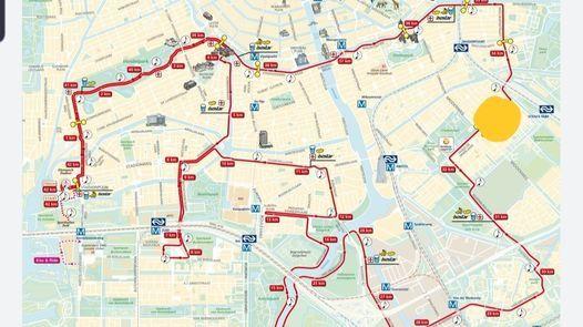 Amsterdam (halve) marathon Loopwijzer Cheerzone