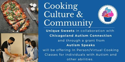 Cooking, Culture & Community Classes for Adults with Autism