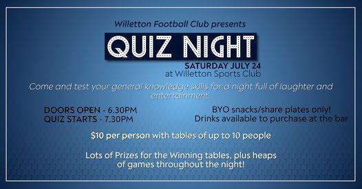 WFC Quiz Night