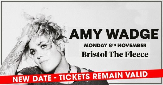 Amy Wadge live at The Fleece, Bristol