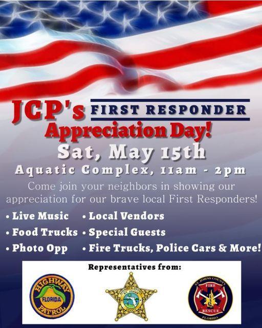 JCP's First Responder Appreciation Day