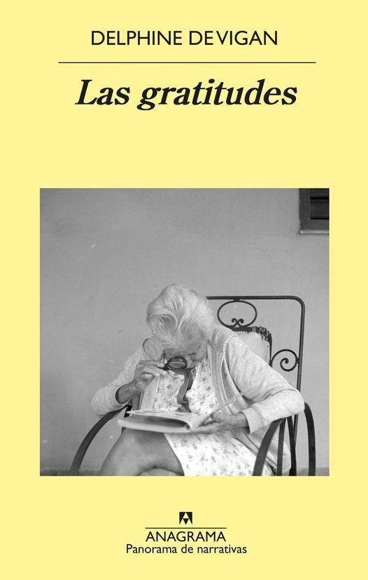 """Taller de lectura: """"Delphine de Vigan: Las gratitudes"""""""