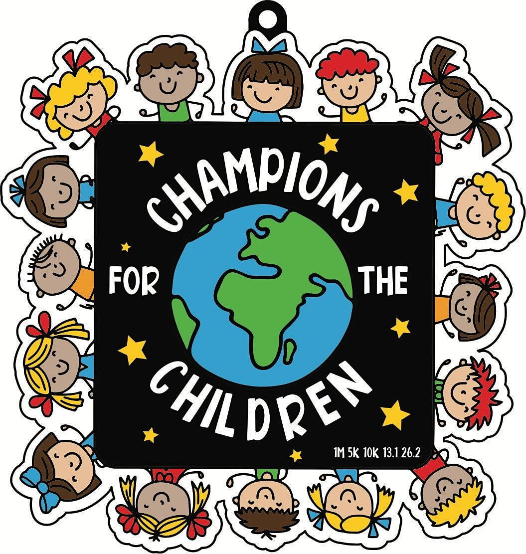 2021 Champs for the Children 5K 10K 13.1 26.2-Participate from Home.Save $5